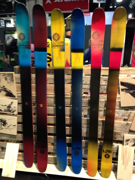 2015 LINE Skis - Sick Day 125, Sick Day 110, Sick Day 95