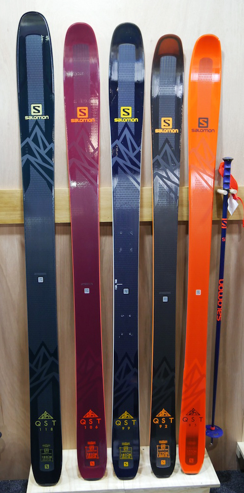 Salomon QST Skis Preview